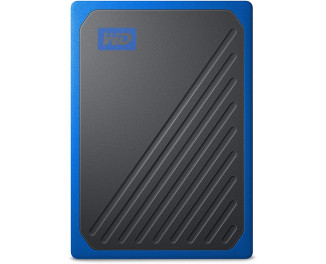 Внешний SSD накопитель 2 TB WD My Passport Go Blue (WDBMCG0020BBT-WESN)