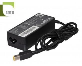 Блок питания для ноутбука Lenovo 65W (20V/3.25A) USB (AC1STLE65WC)