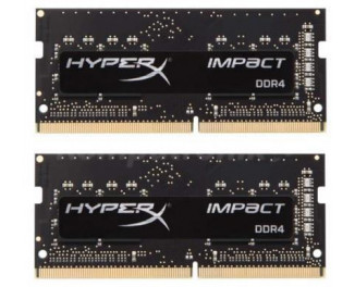 Память для ноутбука SO-DIMM DDR4 16 Gb (2933 MHz) (Kit 8 Gb x 2) Kingston HyperX Impact (HX429S17IB2K2/16)