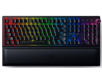 Клавиатура беспроводная Razer BlackWidow V3 Pro Yellow Switch US Layout WL/BT/USB RGB Black (RZ03-03531700-R3M1)