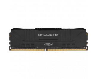 Оперативная память DDR4 16 Gb (3200 MHz) Crucial Ballistix Black (BL16G32C16U4B)