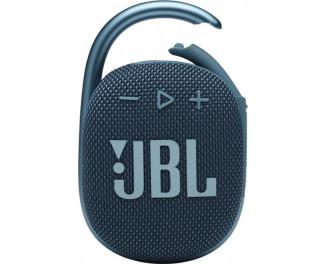Портативная колонка JBL Clip 4 Blue (JBLCLIP4BLU)