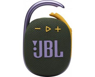 Портативная колонка JBL Clip 4 Green (JBLCLIP4GRN)