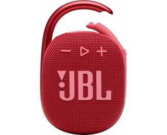 Портативная колонка JBL Clip 4 Red (JBLCLIP4RED)