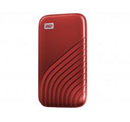 Внешний SSD накопитель 2 TB WD My Passport Red (WDBAGF0020BRD-WESN)