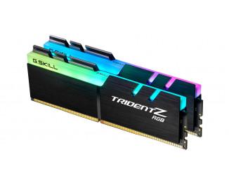 Оперативная память DDR4 64 Gb (3200 MHz) (Kit 32 Gb x 2) G.SKILL Trident Z RGB (F4-3200C14D-64GTZR)