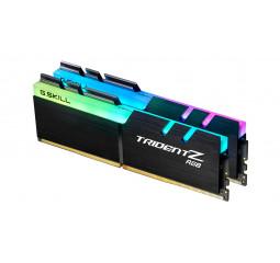Оперативная память DDR4 64 Gb (3600 MHz) (Kit 32 Gb x 2) G.SKILL Trident Z RGB (F4-3600C18D-64GTZR)