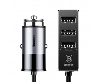 Автомобильное зарядное устройство Baseus Enjoy Together Car 5.5A 4USB (CCTON-0G) Gray
