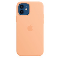 Чехол для Apple iPhone 12 / 12 Pro  Apple Silicone Case with MagSafe Cantaloupe (MK023)