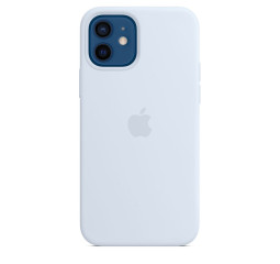 Чехол для Apple iPhone 12 / 12 Pro  Apple Silicone Case with MagSafe Cloud Blue (MKTT3)