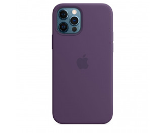 Чехол для Apple iPhone 12 Pro Max  Apple Silicone Case with MagSafe Amethyst (MK083)