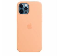 Чехол для Apple iPhone 12 Pro Max  Apple Silicone Case with MagSafe Cantaloupe (MK073)