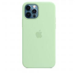 Чехол для Apple iPhone 12 Pro Max  Apple Silicone Case with MagSafe Pistachio (MK053)