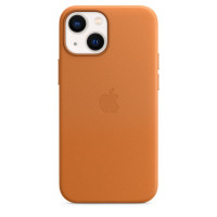 Чехол для Apple iPhone 13  Apple Leather Case with MagSafe Golden Brown (MM103)