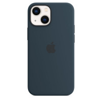 Чехол для Apple iPhone 13  Apple Silicone Case with MagSafe Abyss Blue (MM293)