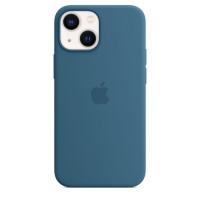 Чехол для Apple iPhone 13  Apple Silicone Case with MagSafe Blue Jay (MM273)