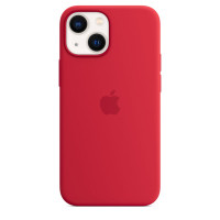 Чехол для Apple iPhone 13 mini  Apple Silicone Case with MagSafe (PRODUCT)RED (MM233)