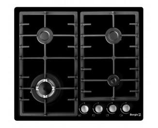 Газовая варочная поверхность Borgio 6942-15 FFD black Enamelled