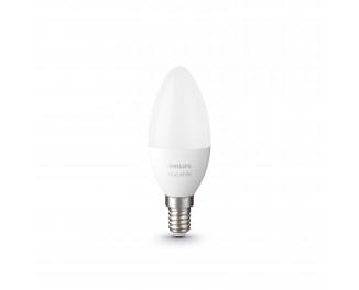 Комплект ламп PHILIPS Hue E14, 5.5W(40Вт), 2700K, White, Bluetooth, диммируемая, 2 шт (929002039904)