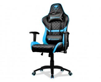 Кресло для геймеров Cougar Armor One Black/Sky Blue