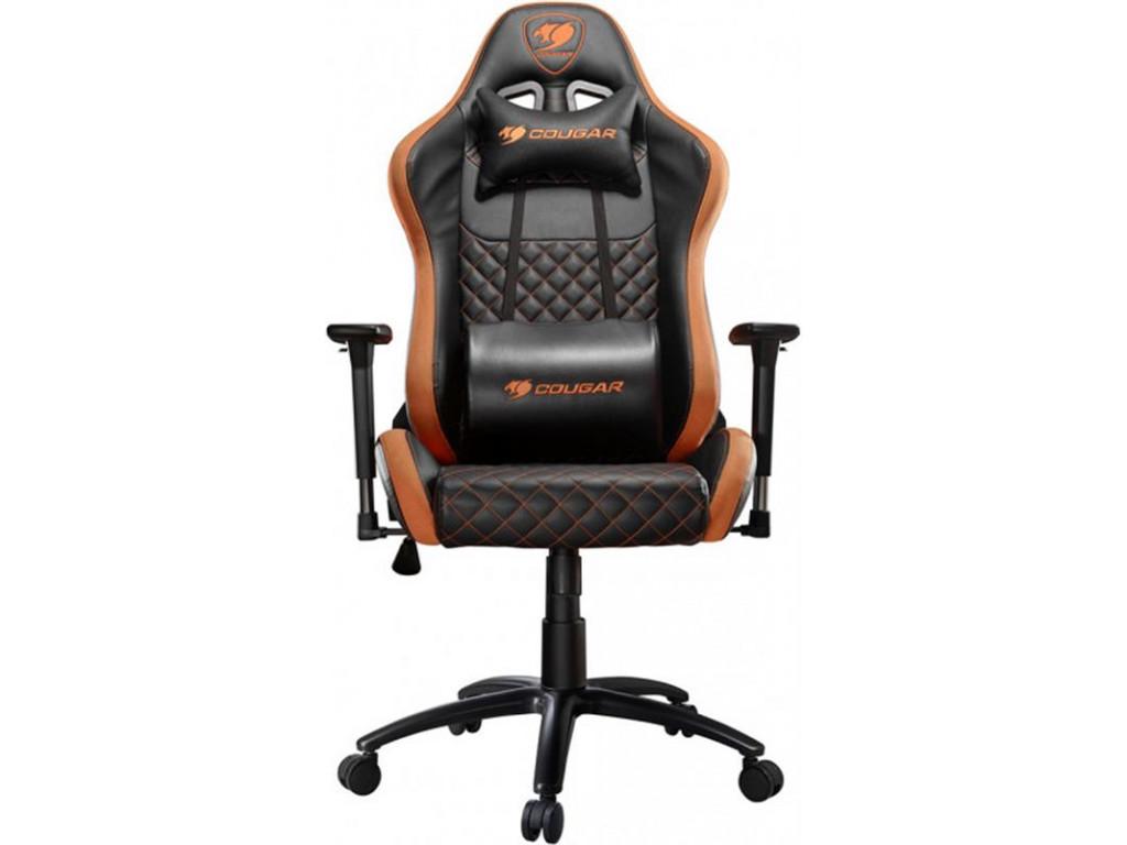 Кресло для геймеров Cougar Armor Pro Black/Orange