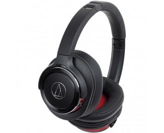 Наушники беспроводные Audio-Technica ATH-WS660BT Black/Red