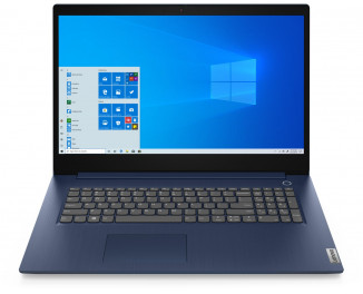 Ноутбук Lenovo IdeaPad 3 17IIL05 (81WF004CUS) Abyss Blue