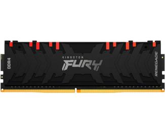 Оперативная память DDR4 32 Gb (3200 MHz) Kingston Fury Renegade RGB (KF432C16RBA/32)