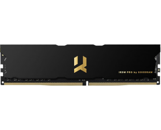Оперативная память DDR4 8 Gb (3600 MHz) GOODRAM Iridium Pro Deep Black (IRP-K3600D4V64L18S/8G)