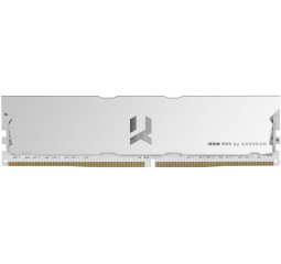Оперативная память DDR4 8 Gb (4000 MHz) GOODRAM IRDM PRO Hollow White (IRP-W4000D4V64L18S/8G)