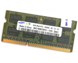 Память для ноутбука SO-DIMM DDR3 2 Gb (1333 MHz) Samsung (M471B5673EH1-CH9)