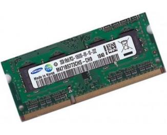 Память для ноутбука SO-DIMM DDR3 2 Gb (1333 MHz) Samsung (M471B5773CHS-CH9)