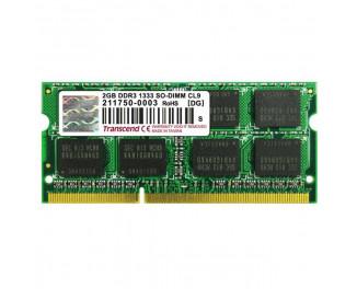 Память для ноутбука SO-DIMM DDR3 2 Gb (1333 MHz) Transcend (TS256MSK64V3U)