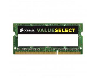 Память для ноутбука SO-DIMM DDR3L 8 Gb (1600 MHz) Corsair ValueSelect (CMSO8GX3M1C1600C11)