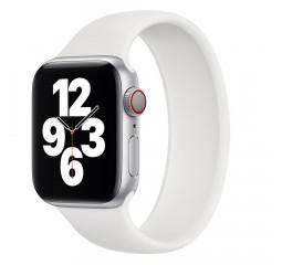 Силиконовый монобраслет для Apple Watch 42/44mm Solo Loop White (M/160-170mm)
