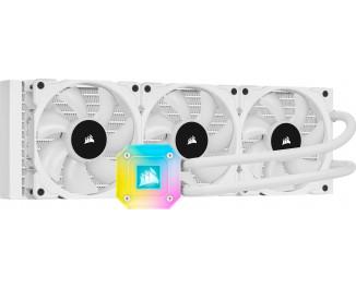 Система водяного охлаждения Corsair iCUE H150i ELITE Capellix Liquid CPU Cooler White (CW-9060051-WW)