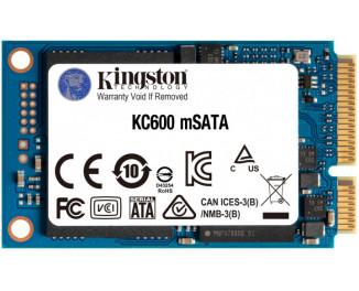 SSD накопитель 512Gb Kingston KC600 mSATA (SKC600MS/512G)