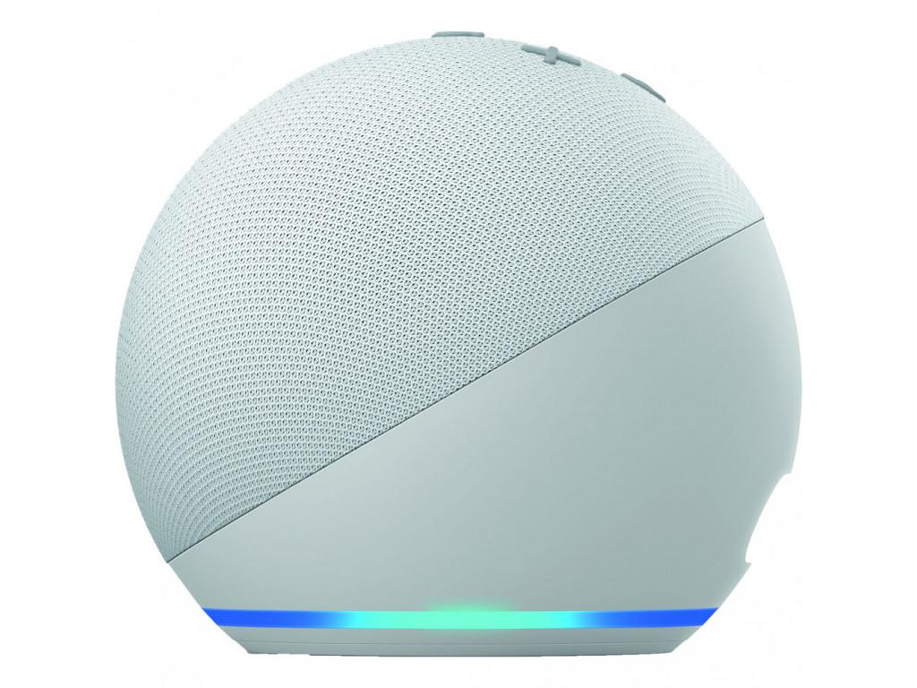 Умная колонка Amazon Echo Dot (4th Generation) с голосовым ассистентом Amazon Alexa Glacier White (B084J4KNDS)