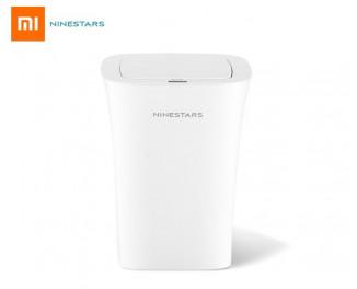 Умное мусорное ведро Xiaomi Ninestars Waterproof Sensor Trash Can 10L (DZT-10-11S) White