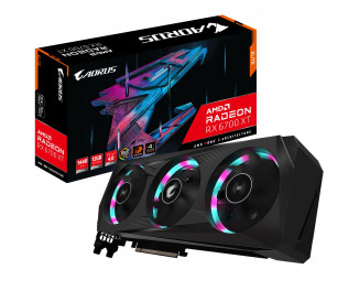 Видеокарта Gigabyte Radeon RX 6700 XT ELITE 12G (GV-R67XTAORUS E-12GD)