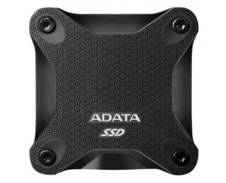 Внешний SSD накопитель 240Gb ADATA SD600Q Black (ASD600Q-240GU31-CBK)