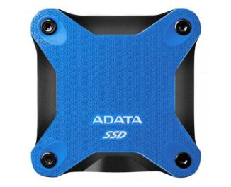 Внешний SSD накопитель 240Gb ADATA SD600Q Blue (ASD600Q-240GU31-CBL)