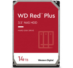 Жесткий диск 14 TB WD Red Plus NAS (WD140EFGX)