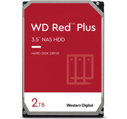Жесткий диск 2 TB WD Red Plus NAS (WD20EFZX)
