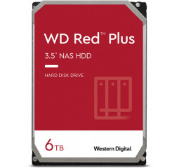 Жесткий диск 6 TB WD Red Plus NAS (WD60EFZX)