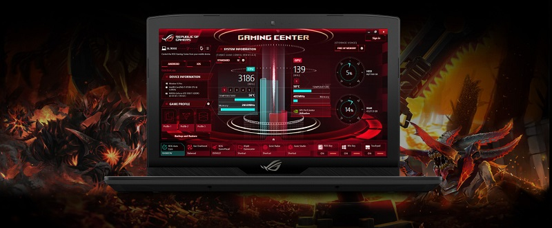 Ноутбук ASUS ROG Strix GL503GE-EN051T Hero Edition