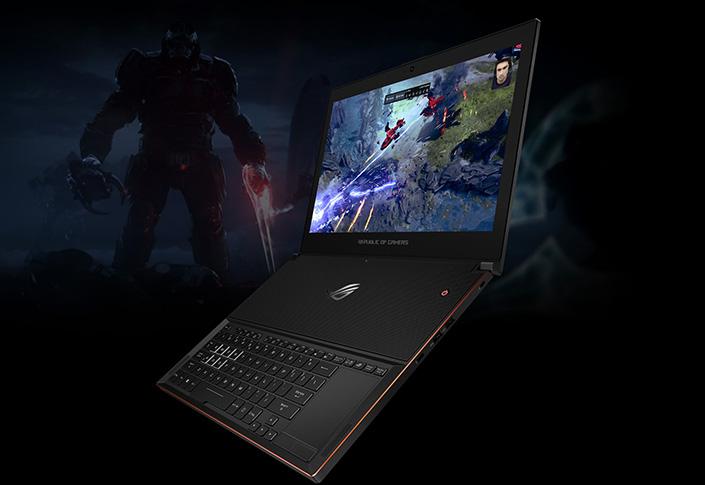Ноутбук ASUS ROG Zephyrus GX501VI-GZ030R Black