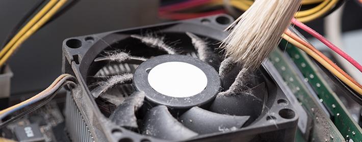 Чистим вентилятор в компьютере