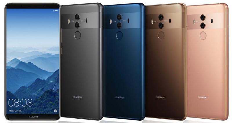 смартфоны Huawei Mate 10 и Mate 10 Pro